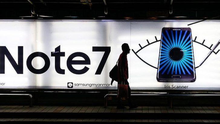 Samsung, Note 7'deki Arızayı Açıkladı
