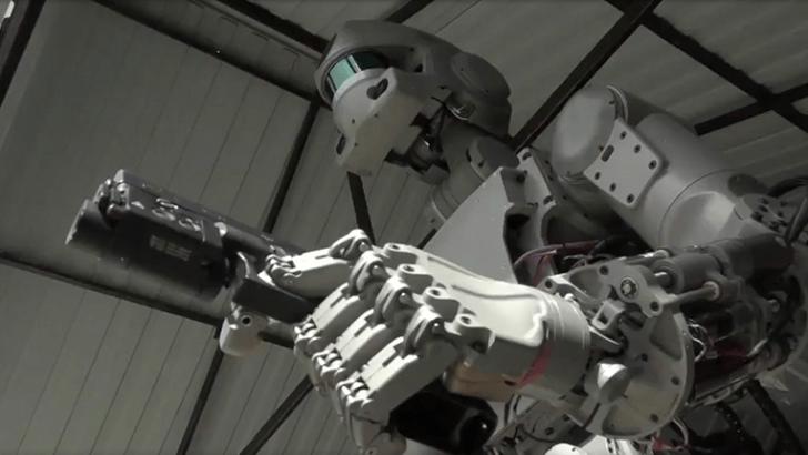 Rusların Terminatör Robotu: FEDOR