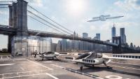 Uçan Taksi VTOL İlk Test Uçuşunu Geçti