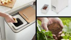Gıda Atıklarını Ev Yapımı Gübreye Dönüştürüyor