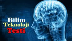 7 Soruluk Bilim Ve Teknoloji Testi