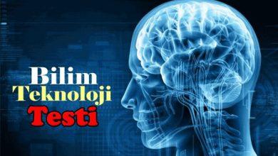 Photo of 7 Soruluk Bilim Ve Teknoloji Testi