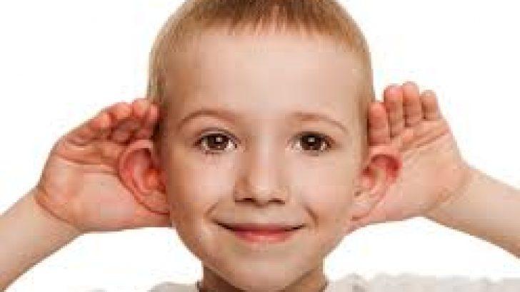 3D Baskılı Çocuk Kulakları