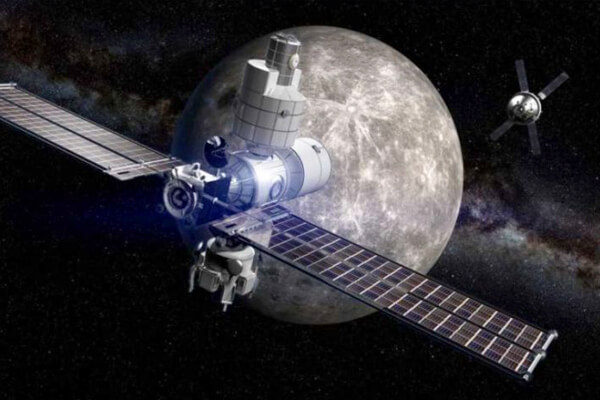 Ay'ın Yörüngesindeki İstasyon