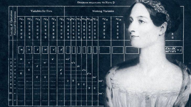 Dünyanın İlk Bilgisayar Programcısı: Ada Lovelace