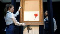 8 Milyon Değerinde Kendini Yok Eden Tablo ve Banksy