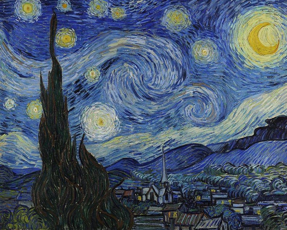 Vincent van Gogh'un Yıldızlı Gece Tablosu